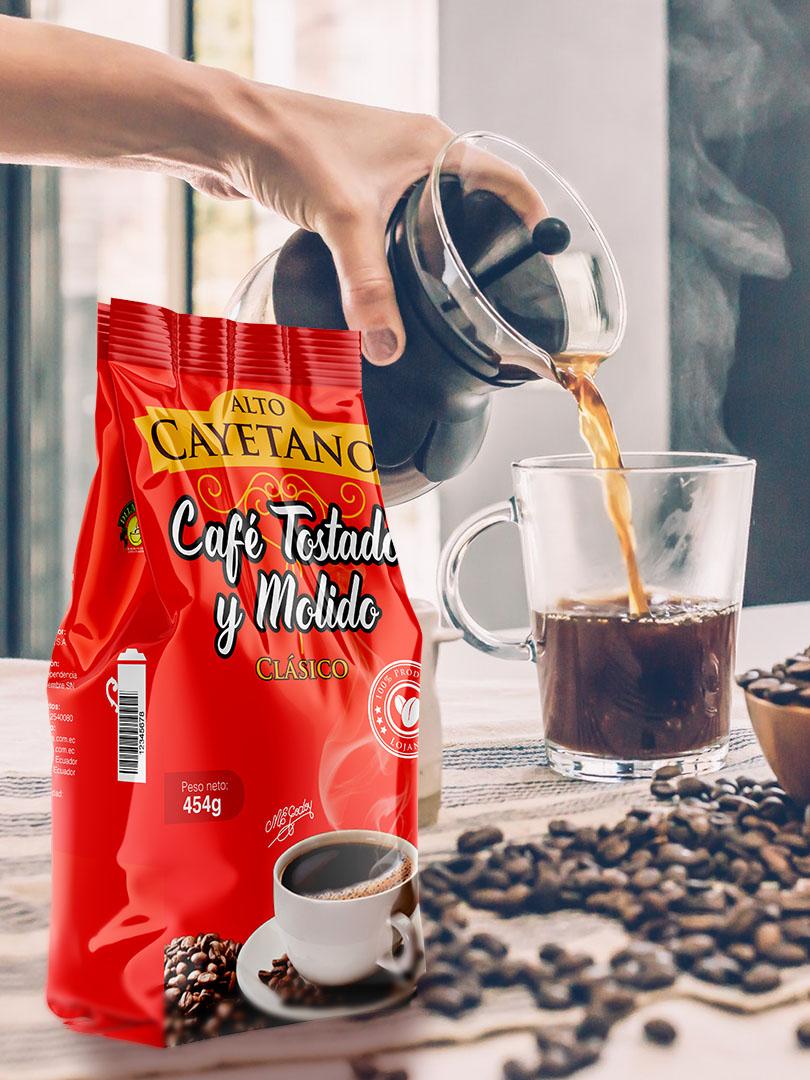 Café Tostado y Molido