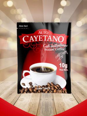 Café Instantáneo Alto Cayetano 10g